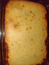 cornbread chili bake