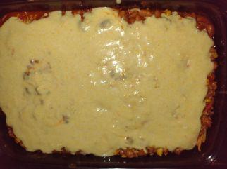 cornbread chili bake uncooked