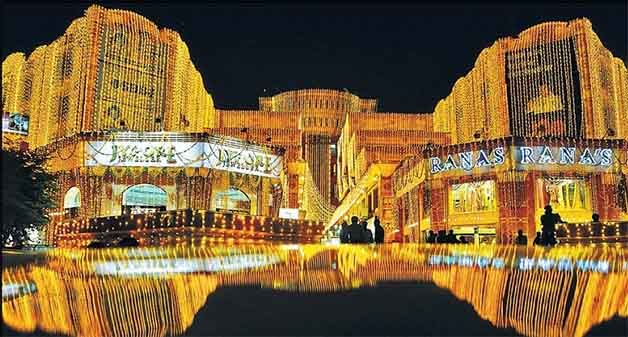 Jaipur Tinged In Tricolour This Diwali Lighting Adds a