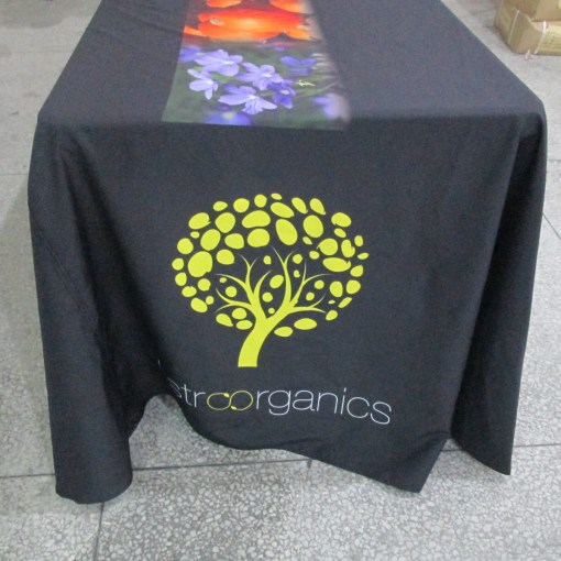 Custom printed table cloths and table covers