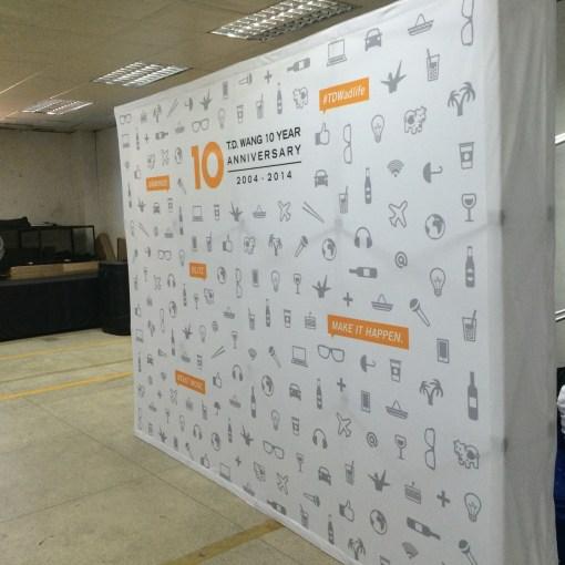 Pop-up-Banner-Display