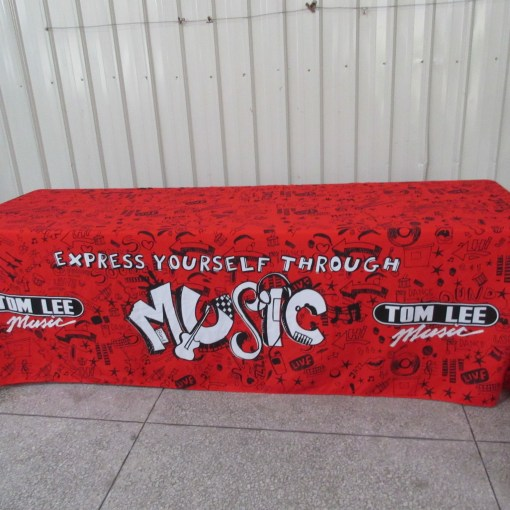 Music Tablecloth Dye Sublimation Printing Process