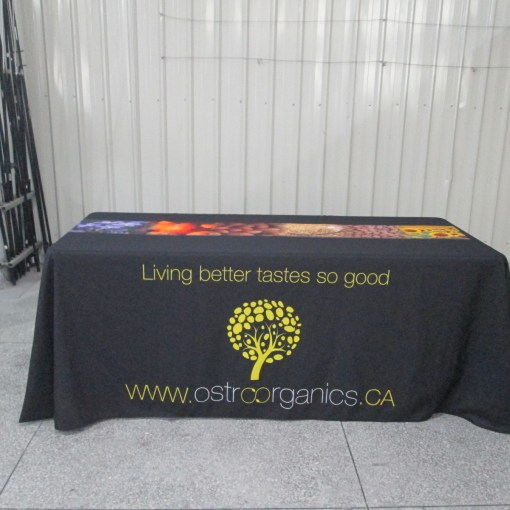 printed table covers Canada