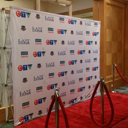 Pop up Display Step and Repeat Backdrop Canada