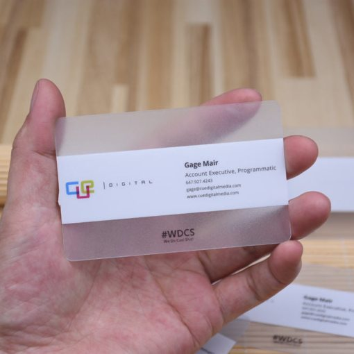 Frosted-Transparent-Card