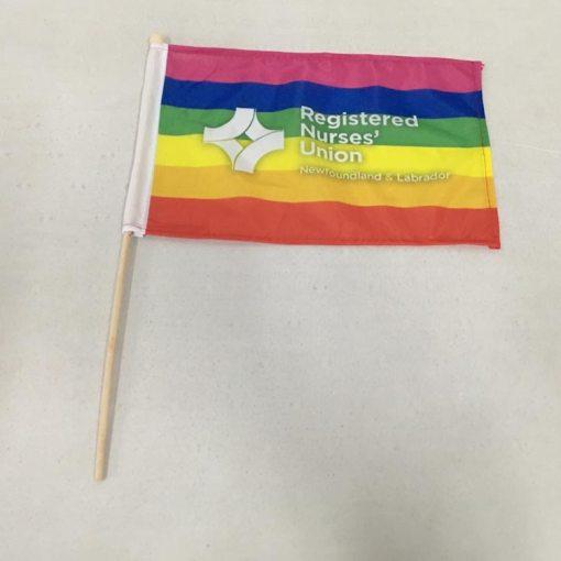 Hand-Flag-Printing