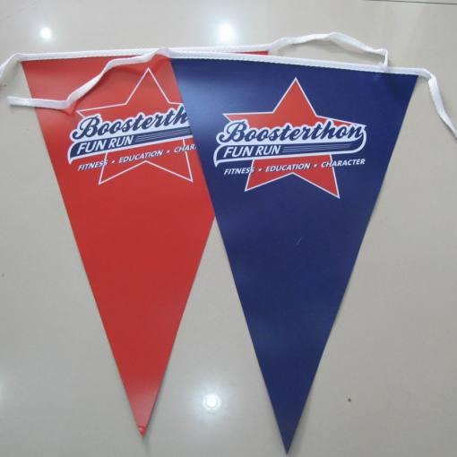 PVC bunting flags