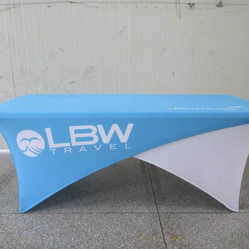 Stretch-reversable-spandex-table-cover