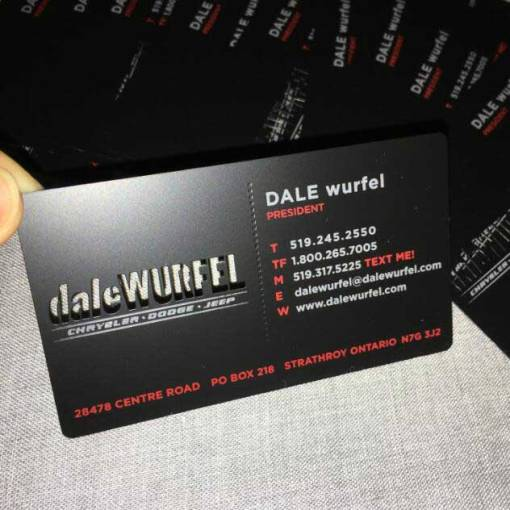 Matte-Black-Metal-Cards-Ontario