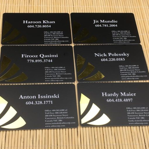 Matte-PVC-Cards-Gold-Foil