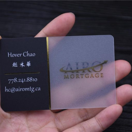 Transparent-Card-with-Gold-Foil