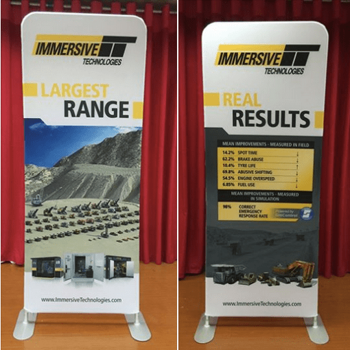 Collapsible Banner Stand Tension Fabric