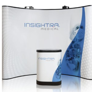 Magnetic Pop up Displays for Trade Shows and Exhibitions