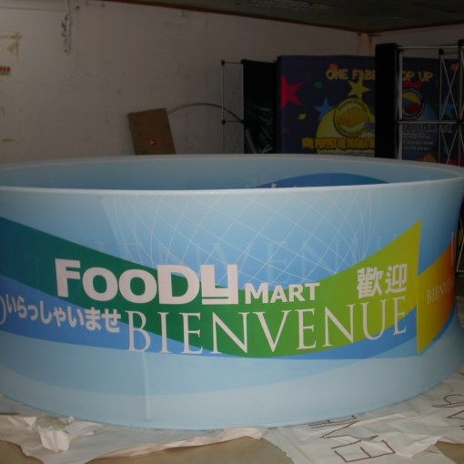 Round Hanging Display for Exhibition