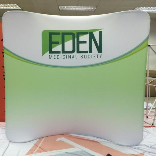 Tension-Fabric-Display-Curved