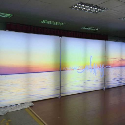 Tradeshow-Display-with-LED-Lights