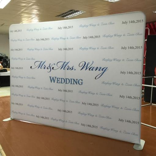 Photobooth backdrop wedding wall