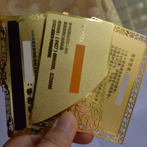 Gold-Metal-Cards