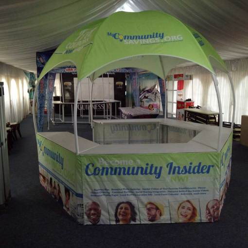 Hexagon-Booth-Display-Dome-Tent-USA