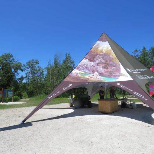 Customized-Star-Tent