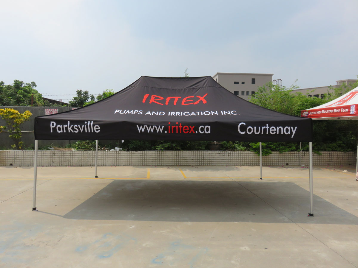 10x15-Printed-Pop-up-Canopy-Tent-With-logo & Custom Printed Pop up Canopy Tents | Pop Up Tent Accessories