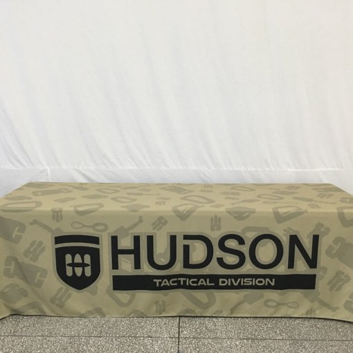 Customized Tablecloth with printed logo