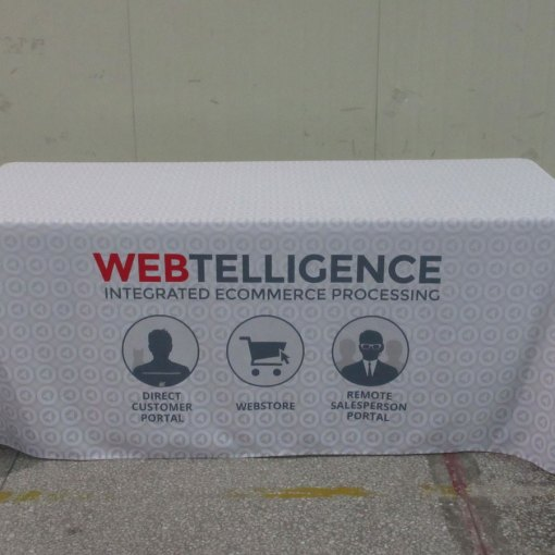 Table cloth printed
