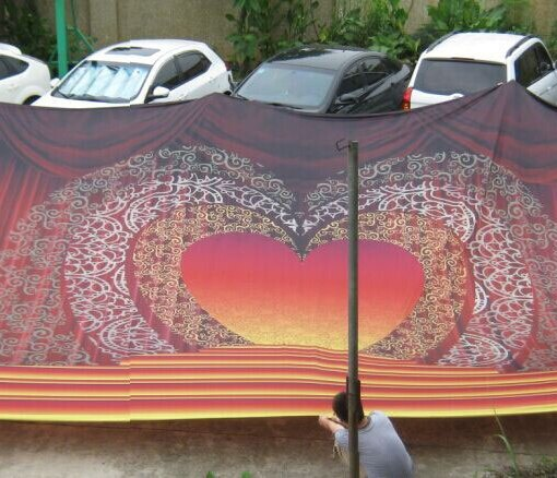 Fabric Backdrop printing