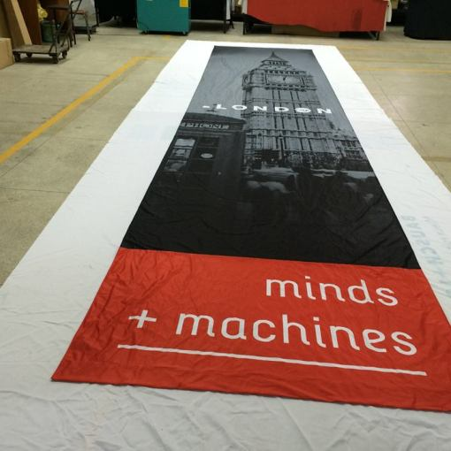 Fabric Banner printing for California