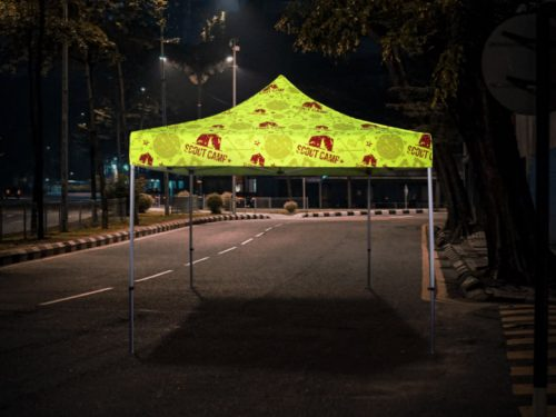 Fluorescent Reflective Tents