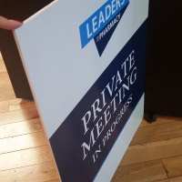 2 x 3 Foamcore sign