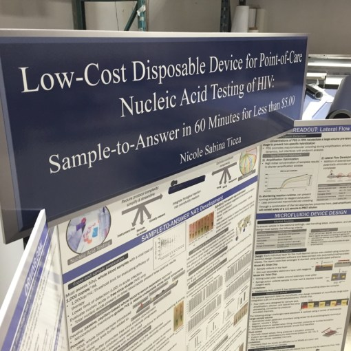 Foamcore for trade show printing