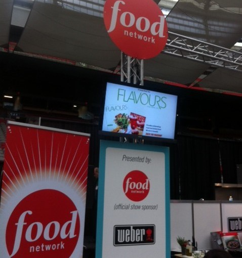 Food TV Foamcore Printing