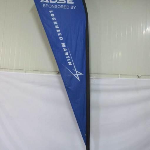 teardrop flag printing