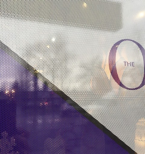 Perforated Vinyl for Windows