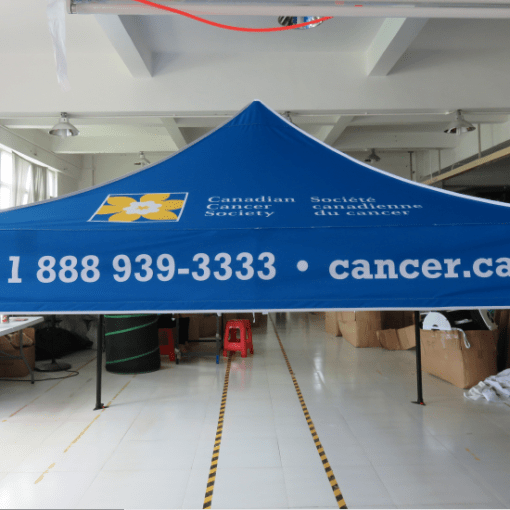 Printed Canopy Tents for Charities and Non-profits