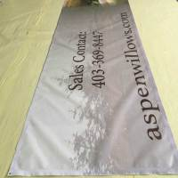 Mesh Banners for Construction Sites