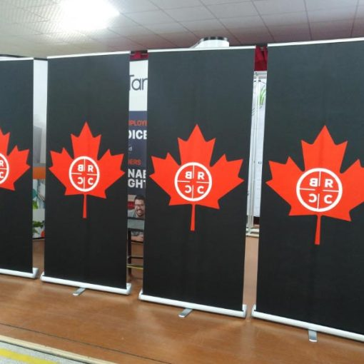 Roll up Banner Stands Canada
