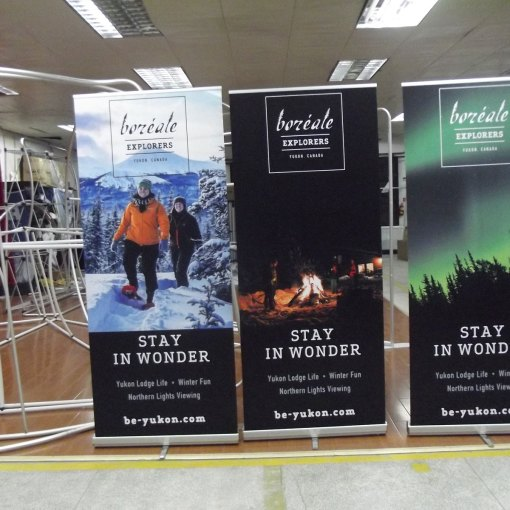 Roll up Banner Stand Printers