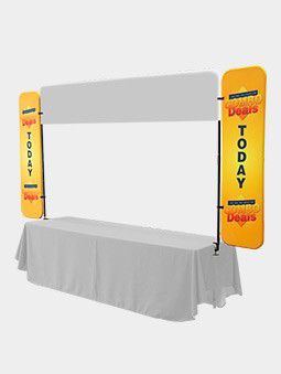 Table Top Banner and Side Panels