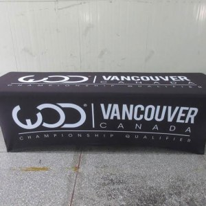 Vancouver Canada Tablecloth Printing