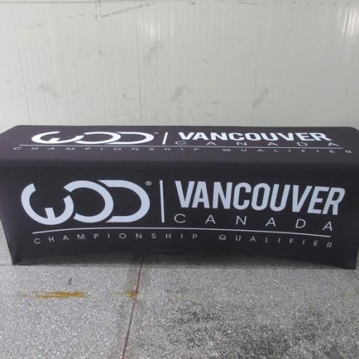 Stretch-Printed-table-cover-with-logo-for-Vancouver-Canada