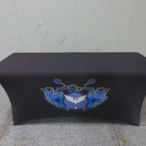Ontario Stretch tablecloth printing