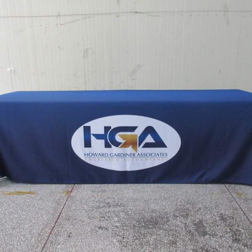 8 foot custom tablecloth