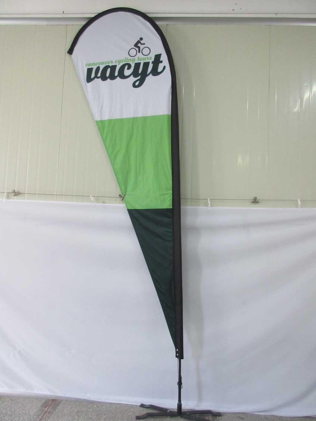 Teardrop Flags Custom Printed Canada Usa And Uk