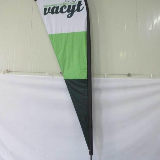 Flag Feather Teardrop