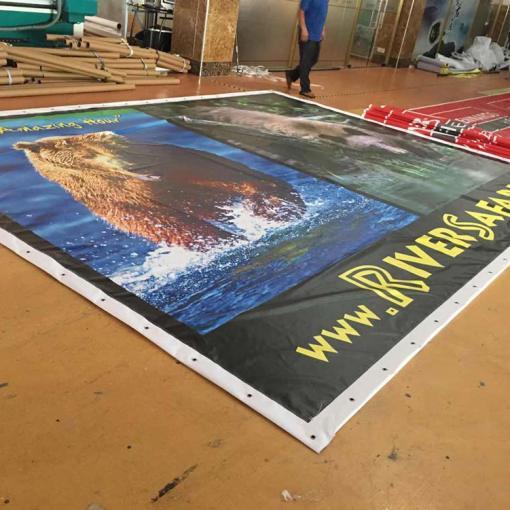 UV Protected Vinyl Banner for Billboards