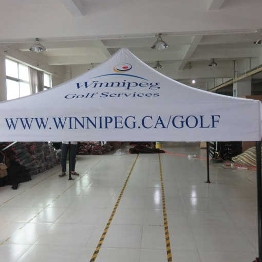 Canada Tent Printing with logo