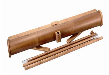 Bamboo Banner Stand