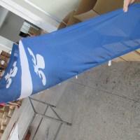 Fabric Mesh Sail Shaped Flags